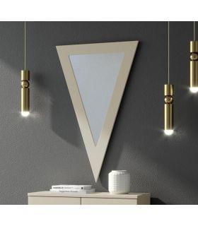 Comprar online Espejo decorativo de pared modelo TRIÁNGULO