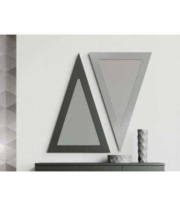Espejo decorativo de pared modelo TRIÁNGULO