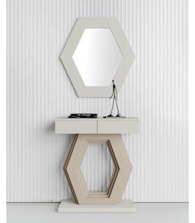 Comprar online Consola decorativa en madera modelo HEXAGONO PQ