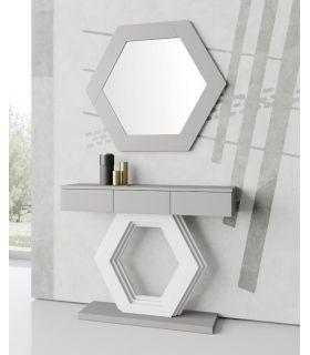 Comprar online Consola decorativa en madera modelo HEXAGONO GR