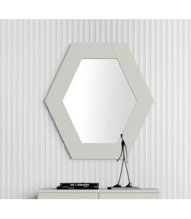 Comprar online Espejo decorativo de pared modelo HEXAGONO PQ