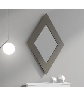 Comprar online Espejo decorativo de pared modelo ROMBO