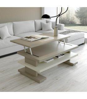 Comprar online Mesa de centro con tapa elevable modelo CACERES rectángular