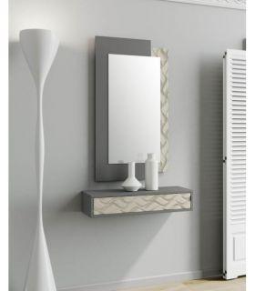 Comprar online Espejo con marco de madera modelo DESIGUAL ONDAS