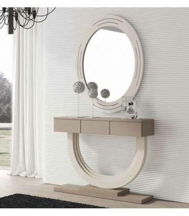 Espejo Ovalado de estilo moderno modelo DONOSTI GR