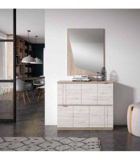 Comprar online Espejo decorativo de madera modelo ARAGON