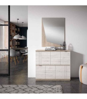 Espejo decorativo de madera modelo ARAGON