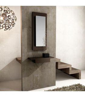 Comprar online Espejo con Porta llaves interior Modelo HUBBLE