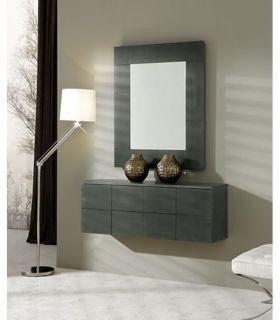 Comprar online Espejo decorativo en chapa de madera HABITAT
