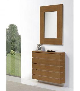 Comprar online Espejo de pared realizado en madera de Roble FIRENZE