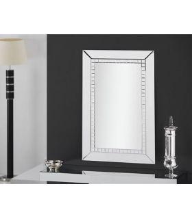 Comprar online Espejo de pared con marco lunas de cristal OSMA