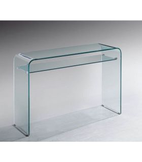 Consola Moderna de Cristal curvado MERYL