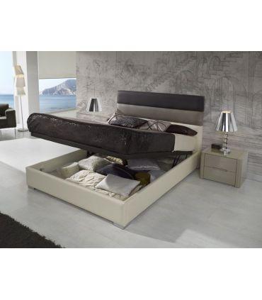 Cama Tapizada con canapé Abatible : Modelo DESIREE