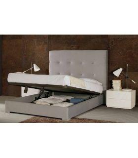 Comprar online Camas Tapizadas con Canapé Abatible Modelo ALMERIA LD