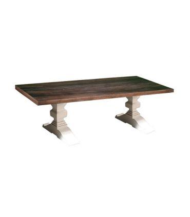 Mesa de Comedor en madera de Mindi Colección EVEREST