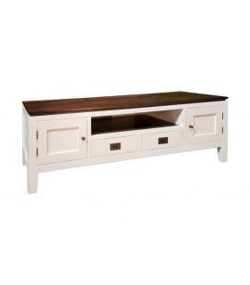 Comprar online Mesa de Televisión en madera decapada Colección EVEREST