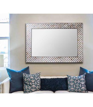 Espejo de pared rectangular modelo CHIARA Schuller