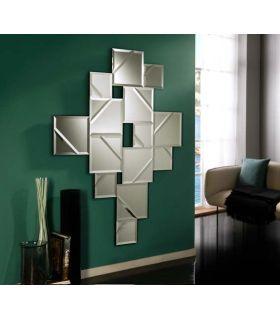 Comprar online Espejo de pared con lunas biseladas modelo LANA Schuller