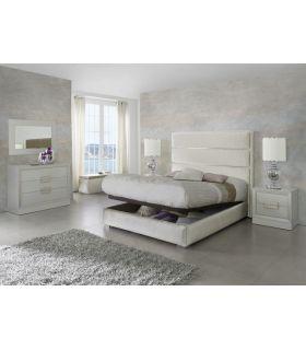 Comprar online Camas de Diseño Moderno con Canapé Abatible : Modelo MENORCA