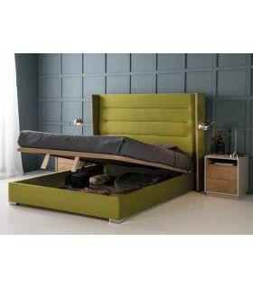 Comprar online Cama Moderna Tapizada con canapé Abatible Modelo NORA