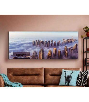 Cuadro con fotografía impresa modelo Rascacielos Schuller