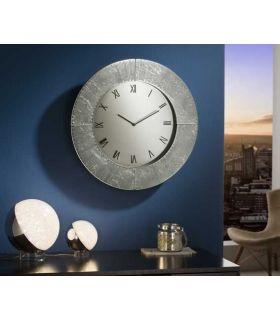 Comprar online Reloj de Pared redondo colección Aurora Plata Schuller