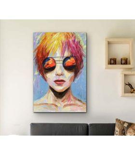 Comprar online Cuadro con pintura acrílica modelo JANIS Schuller