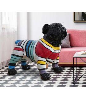 Comprar online Figura decorativa BULLDOG GR franjas Schuller