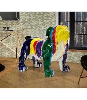 Figura decorativa BULLDOG GR Multicolor Schuller