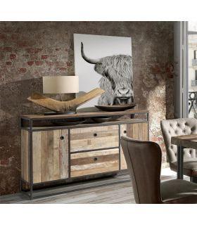 Comprar online Mueble Aparador de estilo industrial Colección TUAREG