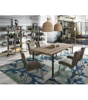 Comprar online Mesa de comedor Rectangular de estilo Industrial Colección TUAREG