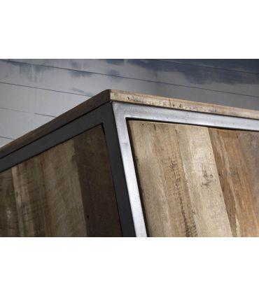 Mueble de Televisión de estilo industrial Colección TUAREG