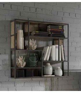 Comprar online Estantería de pared de estilo industrial Colección TUAREG