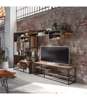 Comprar online Mesa de Televisión con estantes Colección TUAREG