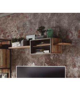 Comprar online Estante suspendido en madera y metal Colección TUAREG