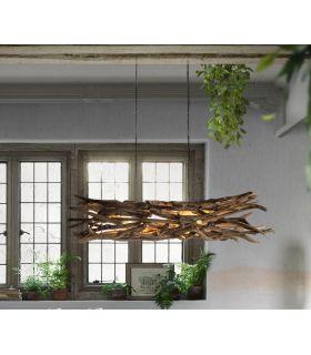Comprar online Lámpara rústica de raíces modelo BLUMA