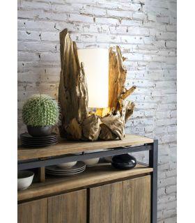 Comprar online Lámpara de sobremesa de raíces naturales modelo BION