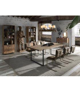 Comprar online Mesa de comedor de estilo Industrial Modelo URBAN
