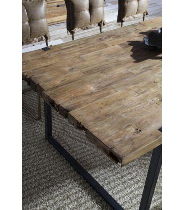 Mesa de comedor de estilo Industrial Modelo URBAN