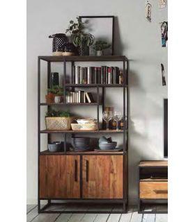 Comprar online Estantería de madera y metal Colección URBAN