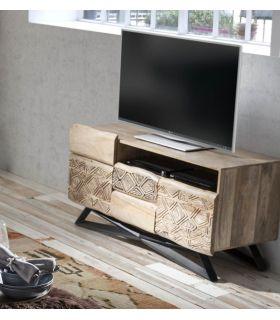 Comprar online Mesa de televisión de estilo Étnico Colección INDY-TATTOO