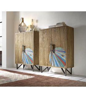 Comprar online Mueble Auxiliar de madera reciclada modelo BATIK