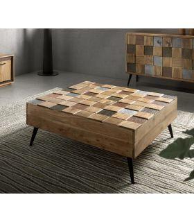 Comprar online Mesa de centro en madera de Acacia Colección NAC
