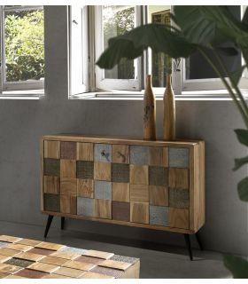 Comprar online Aparador en madera de Acacia Colección NAC 2 Puertas