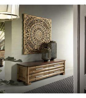 Comprar online Cómoda estilo colonial de Bambu : Modelo NAKO