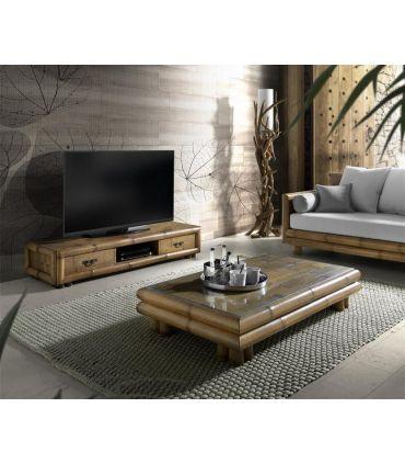 Muebles TV Bajos de Bambu : Modelo TSU 2