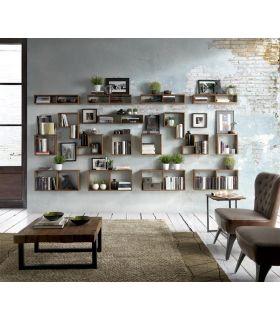 Comprar online Estantes de pared en madera de Teka WALL BOX