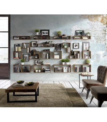 Estantes de pared en madera de Teka WALL BOX
