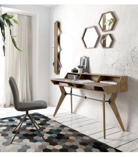 Comprar online Escritorio de madera natural de teka modelo TANGO