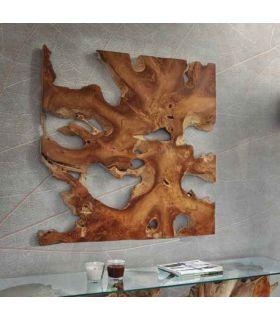 Comprar online Cuadro decorativo en madera de teka Colección NAGA